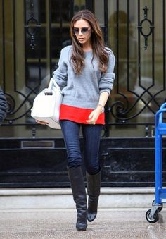 Sweater + boots