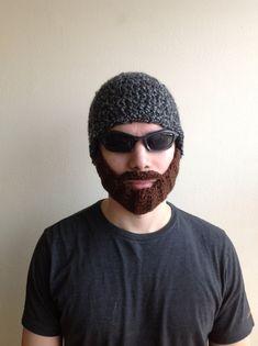 Crochet Beard Hat for men women kids babies  in All by SueStitch, $29.99
