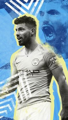 #SergioAgüero #SergioKunAgüero  Sergio #Kun #Agüero  Sergio #KunAgüero Manchester City Wallpaper, Real Madrid Wallpapers, Zen, Kun Aguero, Messi And Ronaldo, Sports Graphic Design, Champion Sports, Football Wallpaper, Home