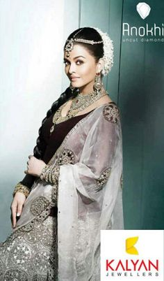 Aishwarya Rai for Kalyan Jewellers' http://www.kalyanjewellers.net/default.aspx #Bridal #Jewelry Inspiration