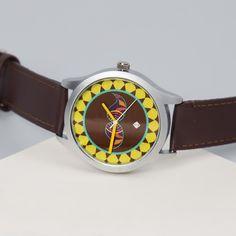 India Circus Brown C est La Vie Unisex Wrist Watch