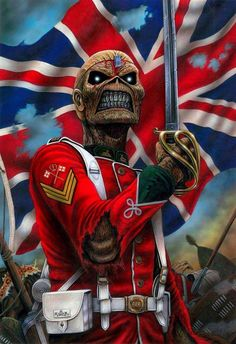 iron maiden - the trooper youll take my like and I take yours too ull fire muskets and ill run you through!!!!!!