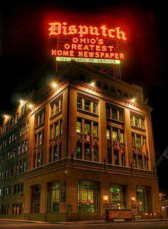 Columbus Ohio, Born Here! Go Buckeyes!