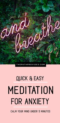 Here is the best meditation for anxiety that can be used on a daily basis to release stress, worries and calm your mind under 5 minutes. Quick and Easy Meditation for Anxiety & Stress Relief Guided Meditation For Anxiety, Best Meditation, Meditation For Beginners, Meditation Benefits, Meditation Techniques, Chakra Meditation, Mindfulness Meditation, Relaxation Techniques, Spiritual Meditation