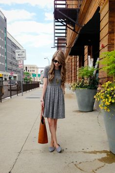 zipped // favorite dress!