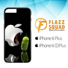 Apple Vs Android Logo E1043 iPhone 6 Plus|6S Plus Case