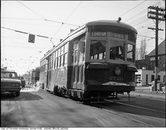 Peter Witt streetcar by Toronto History, via Flickr