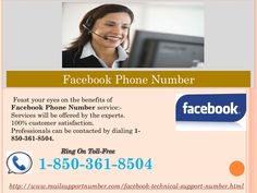 Are you on the ropes in consequence of Facebook issues? Dial Facebook Phone Number 1-850-361-8504 Facebook issues must be eliminated, if they don't then you find yourself on the ropes as it's the consequence ofit, so take our Facebook Phone Number service which is conveyed by the experts who are highly experienced and nimble in their work and that's main reason why millions of customers are claiming our services. So, put a call at our toll-free number 1-850-361-8504. For more information…