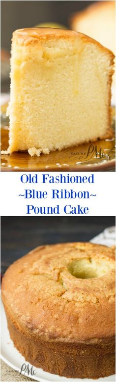 Old Fashioned Blue Ribbon Pound Cake recipe