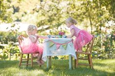 Little Girl Tea Party Styled Session