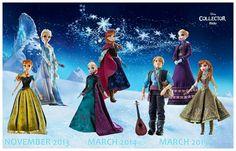 Frozen Limited dolls