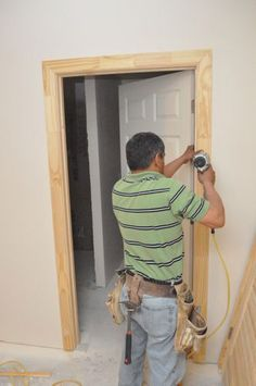 How To Install A Door Diy Projects For Around The House