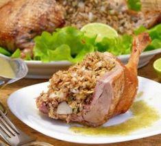 Запечённая в духовке утка с соусом из крыжовника (рецепт леди Кларк из Тиллипрони), пошаговый рецепт с фото