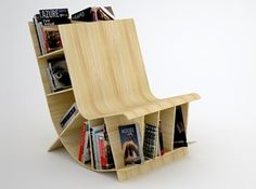 Chair and Book shelf &  Storage for small space