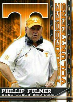 Phillip Fulmer-head coach 1992-2008: University of Tennessee,  1998 National Champions