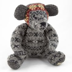 Shetland Museum and Archives> Home > Textiles > Burra Bear - Bright (large)