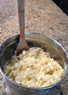 The Cookin' Chicks: Classic Potato Salad Fruit Recipes, Snack Recipes, Corn Recipes, Snacks, Grilling Recipes, Cooking Recipes, Classic Potato Salad, Savory Salads, Salads