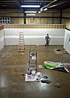 The new office space before it was finished. BW is expanding!  www.bodybuildingwarehouse.com