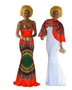 African /ethnic dashiki long gown with the by AFROCOLLECTION2015
