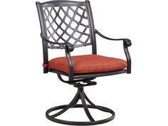 Shop 2 Ashley Furniture Tanglevale Burnt Orange Fabric Swivel Chairs W/Cushion with great price, The Classy Home Furniture has the best selection of Outdoor Dining Chairs to choose from Outdoor Dining Chairs, Patio Seating, Dining Arm Chair, Patio Chairs, Swivel Chair, Swing Chairs, Arm Chairs, Chair Cushions, Deck Furniture