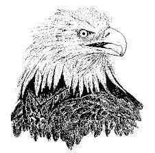 WOOD BADGE PEWTER EAGLE CHARM WOODBADGE