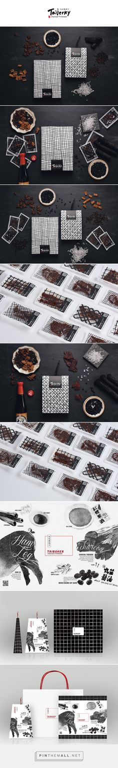 Taijerky Cured Meat Packaging by Yuchieh Chen | Fivestar Branding Agency – Design and Branding Agency & Curated Inspiration Gallery #design #designinspiration #packaging #packagingdesign #branding
