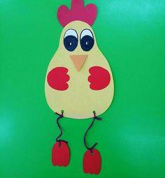 Chicken crafts for preschoolers   funnycrafts