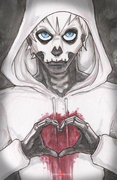Hobo Hand Heart  Poster Print