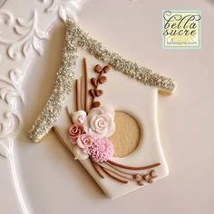 Bird House Cookie