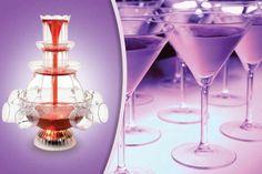 Illuminated Cocktail Fountain