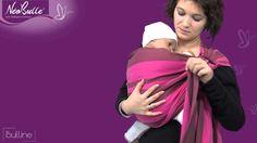 Come indossare perfettamente una fascia ad anelli con il vostro bambino. Tutorial! #babysling #babywearing