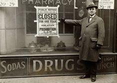Accadde Oggi 16 gennaio 1920 inizia Proibizionismo americano