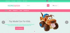 Toys Store Theme for Odoo v8 Ecommerce | 73Lines