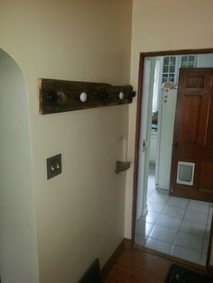 Barnwood and door knobs