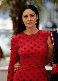 "Monica Bellucci attends the ""La Meraviglie"" photocall during the 67th Annual Cannes Film Festival on May 18, 2014 in Cannes, France."