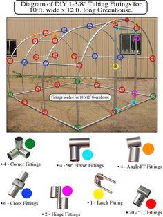 Colorado Metal Worx greenhouse plans 10x12@Crystal Ewert-thomas
