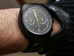As a classic racing-inspired watch, the Autodromo Prototipo Chronograph dial makes good use of attractive, bold colors. Description from ablogtowatch.com. I searched for this on bing.com/images