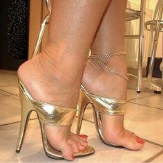 Strappy High Heels, Open Toe High Heels, Hot High Heels, Stiletto Heels, Beautiful High Heels, Gorgeous Feet, Jamel Shabazz, Girl Soles, Extreme High Heels