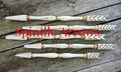 Reposhture Studio: Porch Spindle Arrows