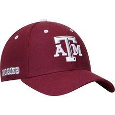 the latest 05f9e 4796a Men s Top of the World Maroon Texas A M Aggies Triple Threat Adjustable Hat