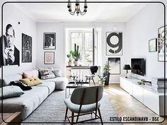 No ESTILO ESCANDINAVO, adota-se a lei do minimalismo, onde os excessos são dispensados, tendo a simplicidade como um dos pontos fortes dos espaços. Funcionalidade no mobiliário , o uso de madeiras claras, itens compactos e espaço livres para a circulação não podem faltar no Decor Escandinavo. #sofisticação #estilo #decor #decoração #decoracao #escandinavo #clean #casa #home #design #decorandoseuespaco