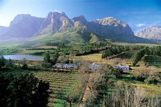 Boschendal Estate, between Franschhoek and Stellenbosch in South Africa's Western Cape.