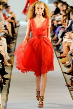 Oscar de la Renta Spring 2012   New York Fashion Week