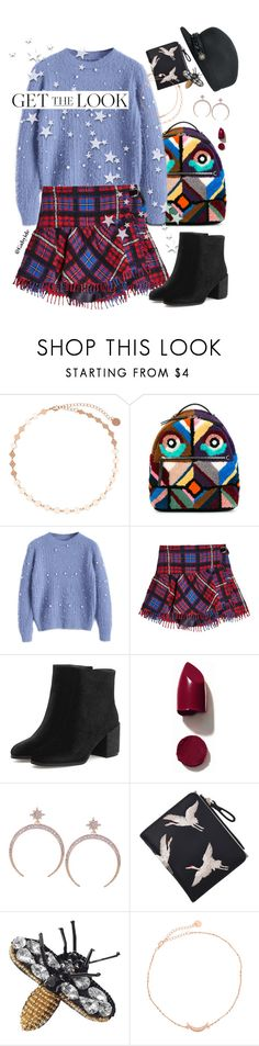 """""""Happy Holidays Polyvore friends!!💕"""" by gabyidc ❤ liked on Polyvore featuring Fendi, Hilfiger Collection and NARS Cosmetics"""