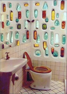 Sustentador/ pared con botellas