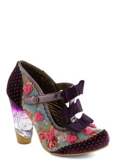 These are SO gaudy... but they feel SO RIGHT.   Delightfully You Heel, #ModCloth