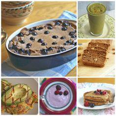40+ Gluten Free, Sugar Free, Quick & Easy Vegan Breakfast Recipes on RickiHeller.com
