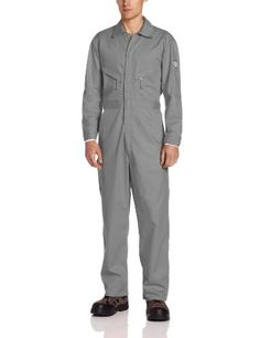 Walls Men's Flame Resistant Industrial Coverall 2-Big, Gray, 64/Regular