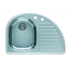 CHIUVETA DE BUCATARIE ALVEUS COLECTIA FUTUR 10 ,INCASTRABILA DIN INOX,INCLUS SIFON POP-UP - Iak Pop Up, Office Supplies, Soap, Bathroom, Washroom, Popup, Full Bath, Bath, Bar Soap