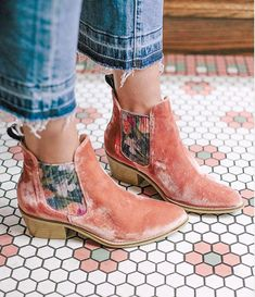 Velvet Anthropologie Ankle Boots of Dreams